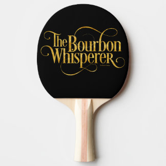 Bourbon Whisperer Ping Pong Paddle
