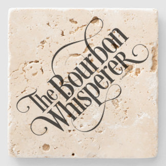 Bourbon Whisperer Stone Coaster