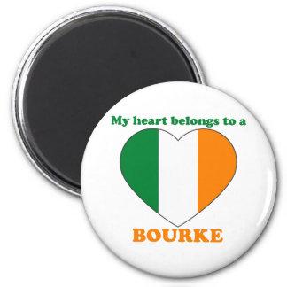 Bourke 6 Cm Round Magnet