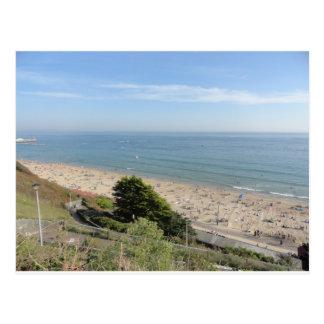 Bournemouth Beach Postcard