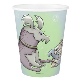 BOUTINO & GALEO MONSTER ALIEN CARTOON PAPER CUP