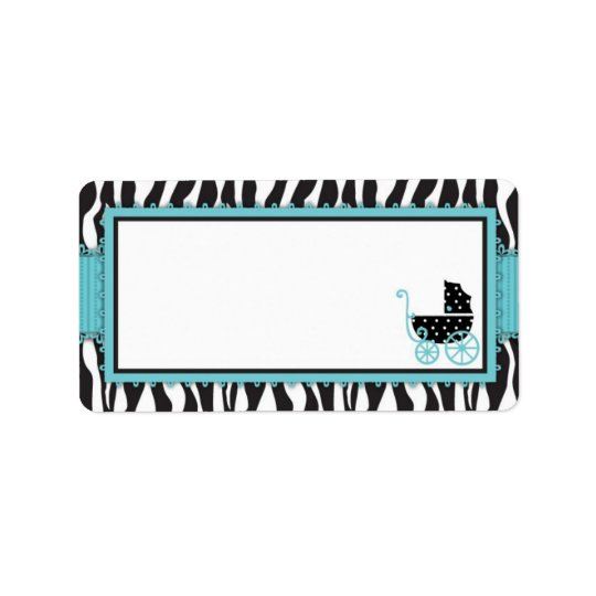Boutique Chic Boy Gift Label Address Label