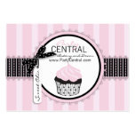 Boutique Chic Cupcake Bakery Pack Of Chubby Business Cards