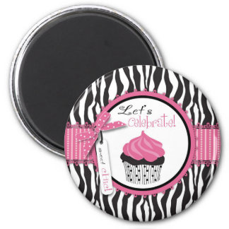 Boutique Chic Cupcakes Magnet