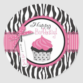 Boutique Chic Cupcakes Sticker 2