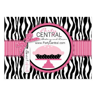 Boutique Chic Pie Bakery Pack Of Chubby Business Cards