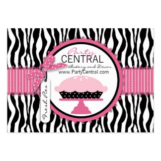 Boutique Chic Pie Large Business Cards (Pack Of 100)