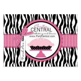 Boutique Chic Pie Business Card Templates