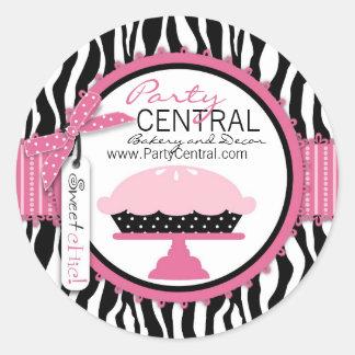 Boutique Chic Pie Business Sticker