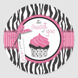 Boutique Chic TY Cupcakes Sticker