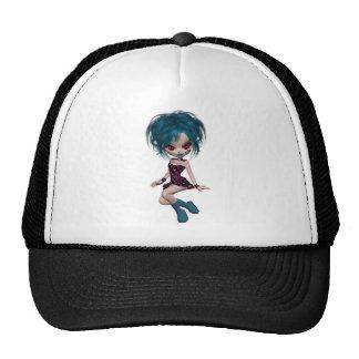 Boutique Gothique Mascot Goth Girl 9 Cap