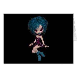 Boutique Gothique Mascot Goth Girl 9 Card
