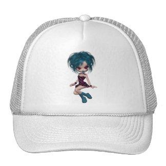 Boutique Gothique Mascot Goth Girl 9 Mesh Hats