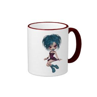 Boutique Gothique Mascot Goth Girl 9 Mug