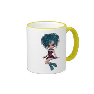 Boutique Gothique Mascot Goth Girl 9 Coffee Mug