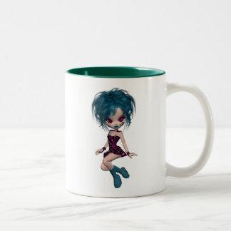 Boutique Gothique Mascot Goth Girl 9 Mugs