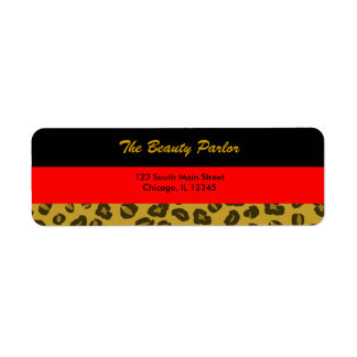 Boutique Return Address Label