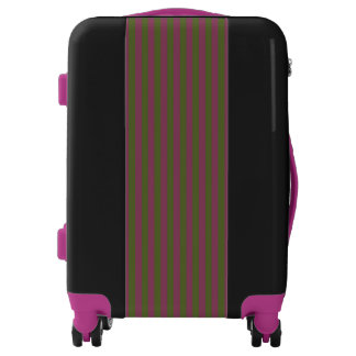 Boutique Stripes - Carry-on Luggage