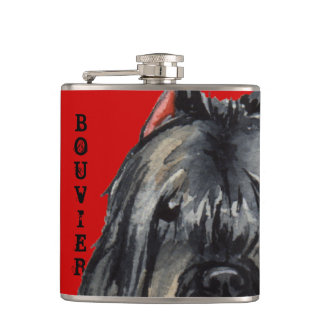 Bouvier Color Block Hip Flask
