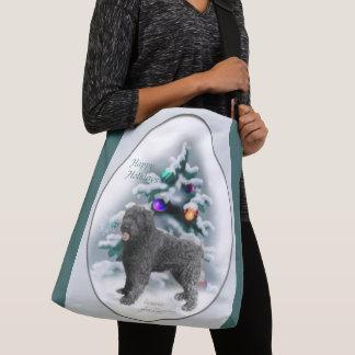 Bouvier des Flandres Christmas Crossbody Bag