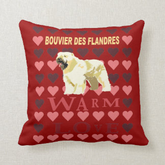 Bouvier Des Flandres Cushion