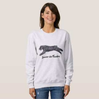 Bouvier des Flandres Dog Art Sweatshirt