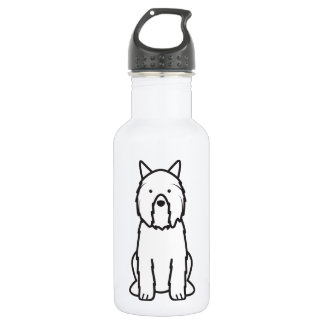 Bouvier des Flandres Dog Cartoon 532 Ml Water Bottle
