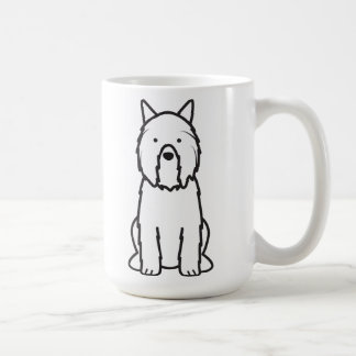 Bouvier des Flandres Dog Cartoon Coffee Mug