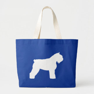 Bouvier des Flandres Dog Large Tote Bag