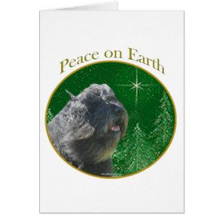 Bouvier Des Flandres Peace Card