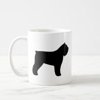Bouvier des Flandres Silhouettes Coffee Mug