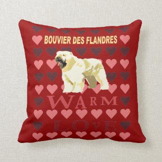 Bouvier Des Flandres Throw Pillow