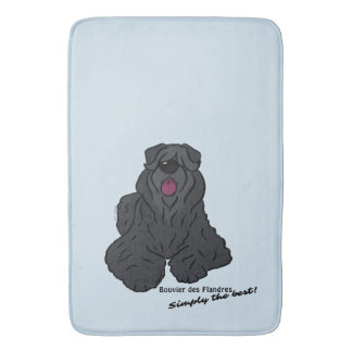 Bouvier of the Flandres - Simply the best! Bath Mat
