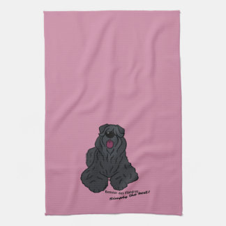 Bouvier of the Flandres - Simply the best! Tea Towel