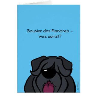 Bouvier of the Flandres - which otherwise? Card