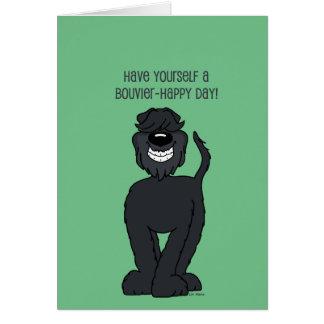 Bouvier Smile Card