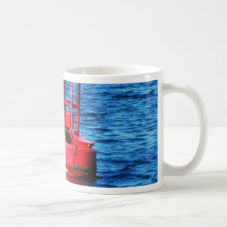 Bouy In San Diego Bay With A Seal On It Coffee Mug