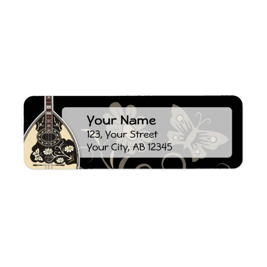 Bouzouki Return Address Label
