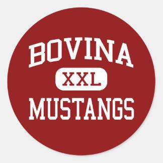 Bovina - Mustangs - High School - Bovina Texas Sticker