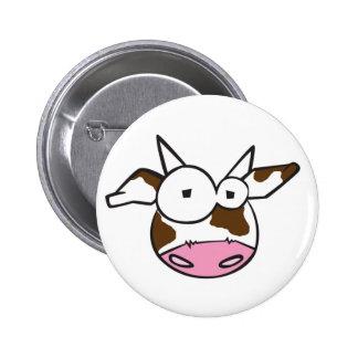 Bovine Cow Button