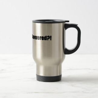 Bovvered!? Travel Mug