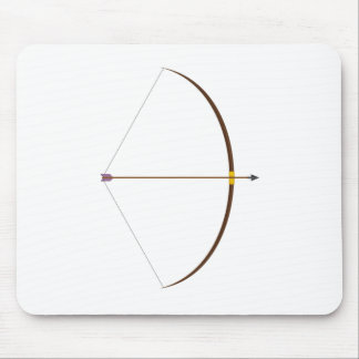 Bow and Arrow Mouse Pad