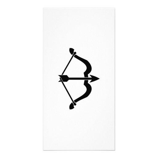 Bow and Arrow Photo Card
