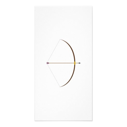 Bow and Arrow Picture Card