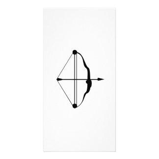 Bow and Arrow Custom Photo Card