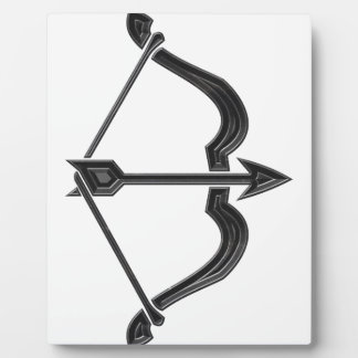 Bow and Arrow Plaque