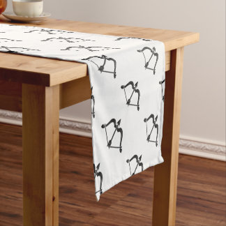 Bow and Arrow Short Table Runner