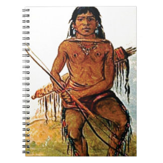 bow armed warrior notebooks