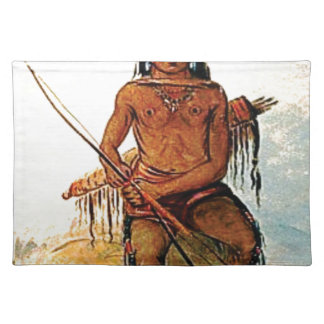bow armed warrior placemat