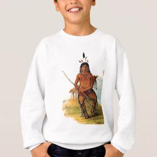 bow armed warrior sweatshirt